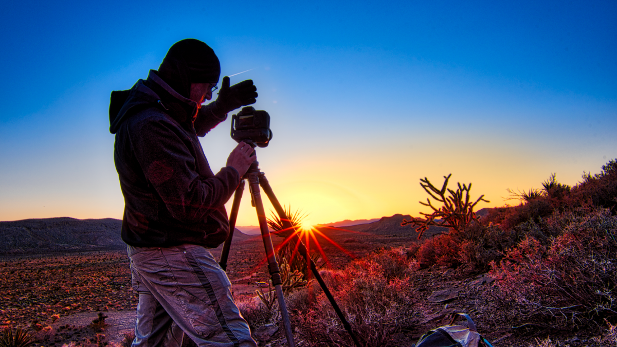 HDR editing Las Vegas red velvet canyon