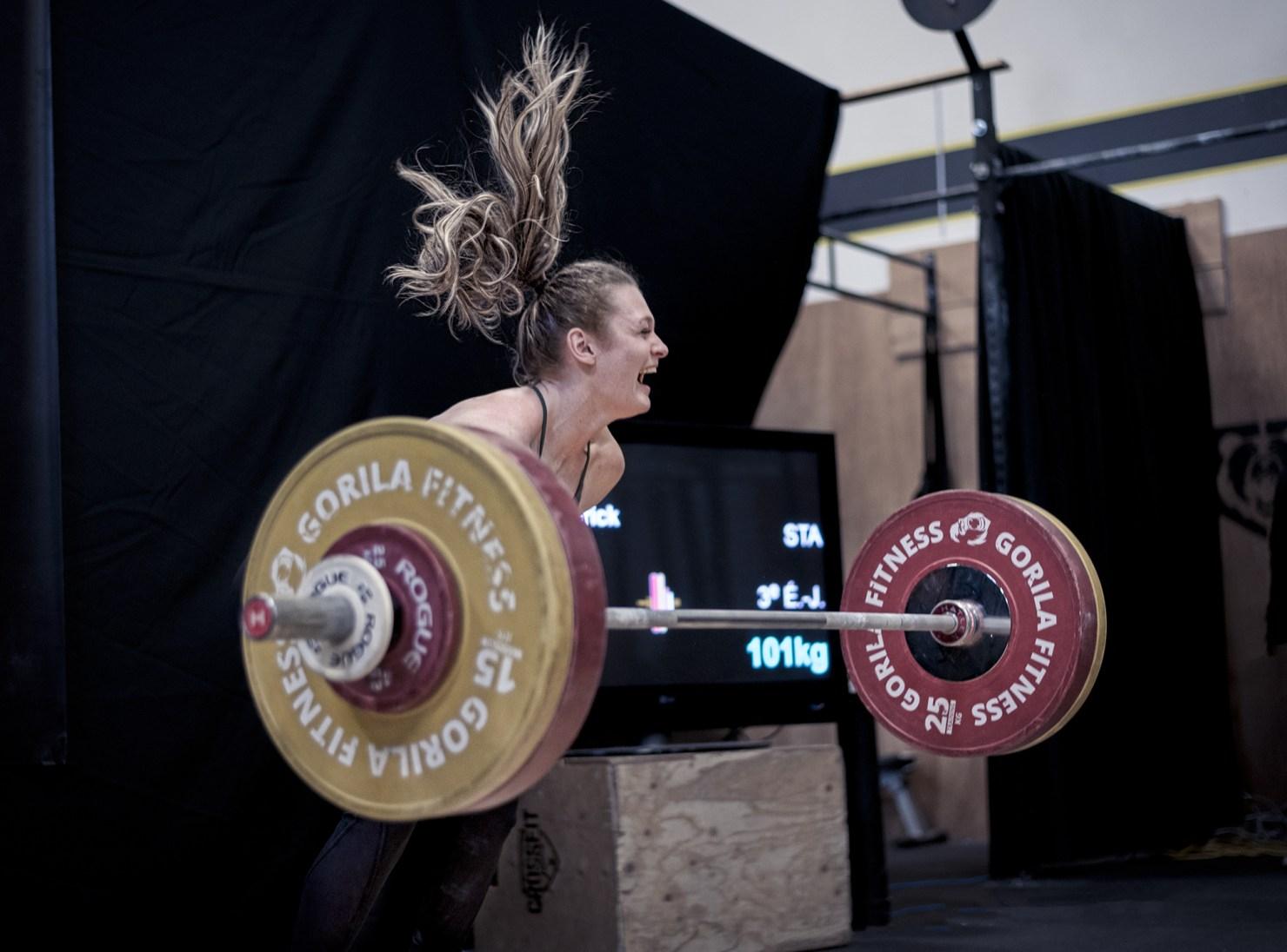 Meilleure photo d'haltérophilie, Ann-Frédérick Pouliot