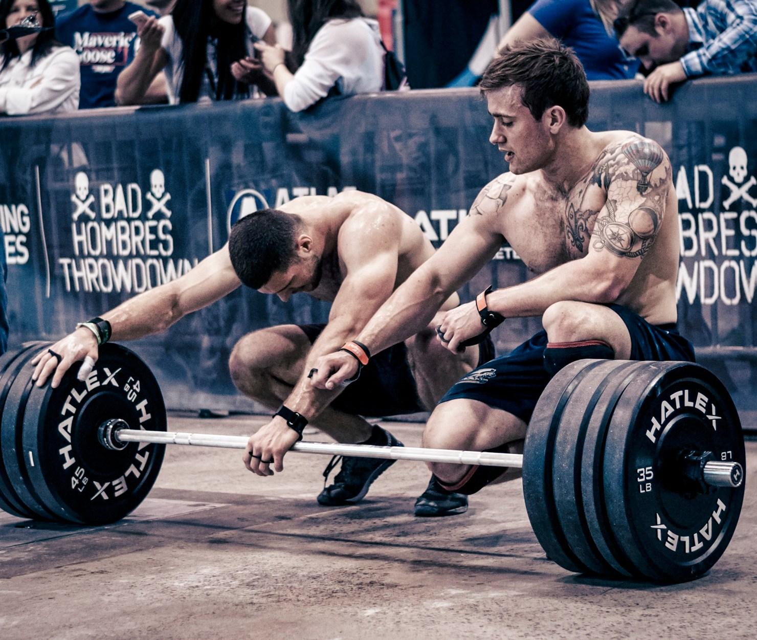 Photo d'athlètes de CrossFit