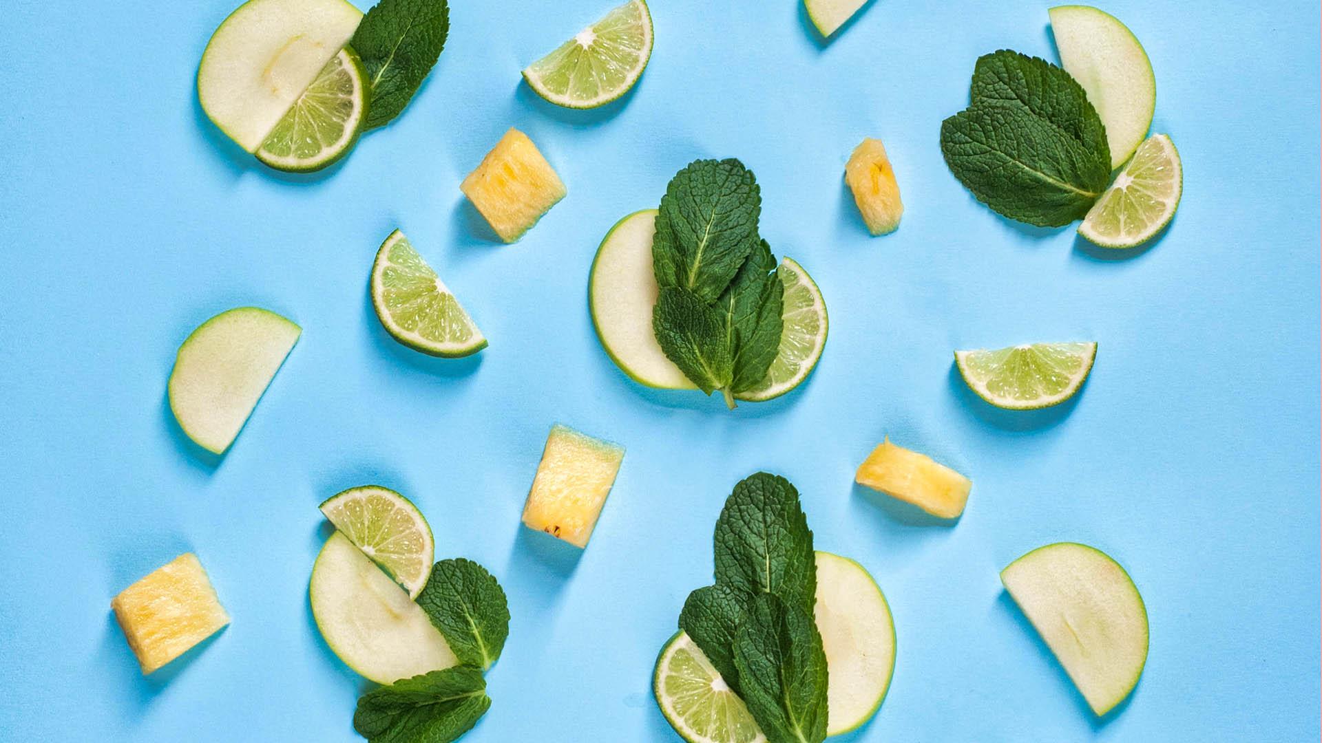 Citrons et lime limonade