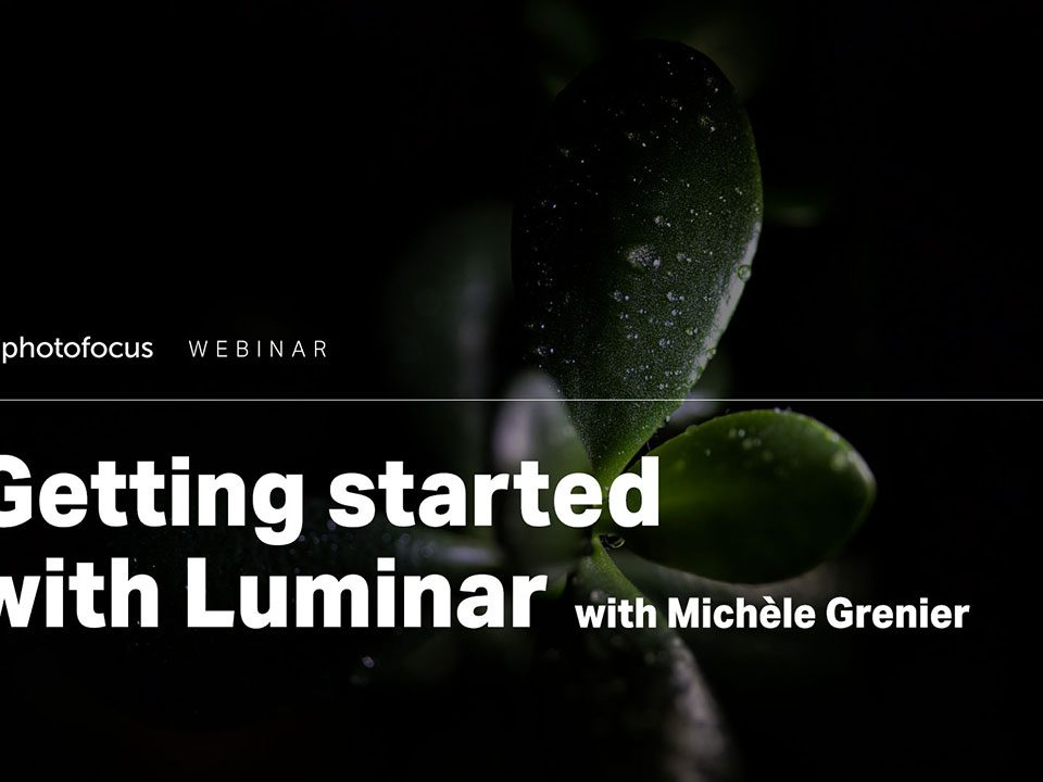 Getting started with Luminar