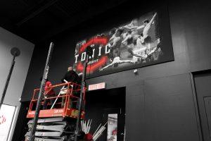 installer murale géante