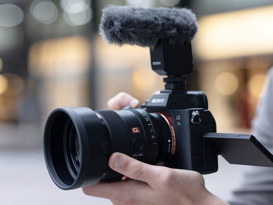 Sony camera objectif