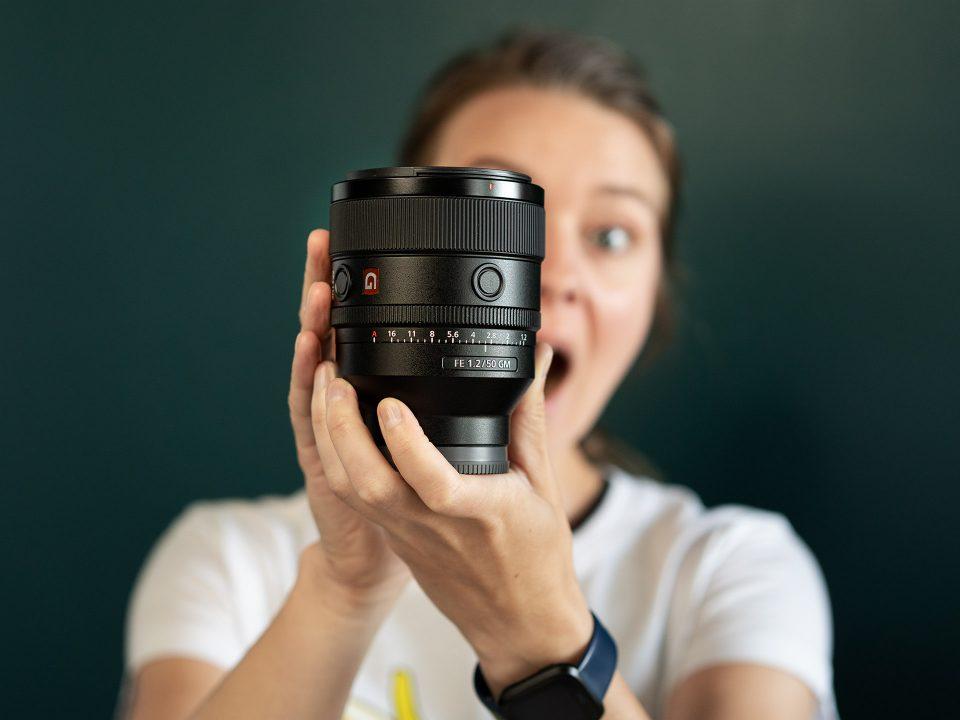 Sony 50mm f/1.2 GM